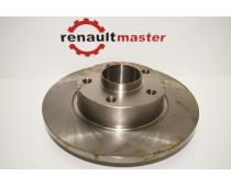 Гальмівний диск Renault Trafic II задній ABS image 1 | Renaultmaster.com.ua