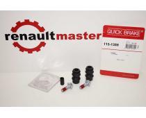 Ремкомлект гальмівного суппорта Renault Master Quick Brake задній image 1