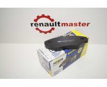 Колодки тормозные передние Renault Trafic 2001-2015 ICER image 1 | Renaultmaster.com.ua