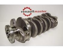 Коленвал Renault Master 2.3 (Movano,NV 400) 2010-