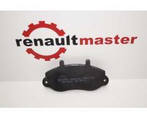 Дискові гальмівні колодки Renault Master 98- R16 Ferodo image 1