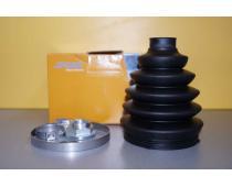 Комплект пильників гумових Renault Trafic 2.0/2.5 Spidan зовнішніх image 1