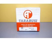 Комплект поршневых колец Renault Master, Trafic 2.5 Tarabusi стандарт высота 3
