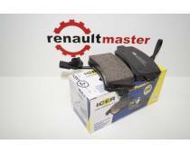 Гальмівні колодки задні ICER Master/Movano з 2011 image 1 | Renaultmaster.com.ua