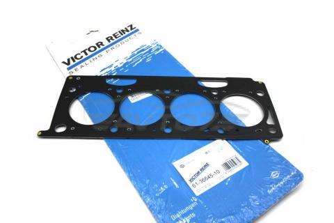 Прокладка головки блока металлическая Renault Master 1.9 (1.6 mm) VICT REINZ  image 1 | Renaultmaster.com.ua