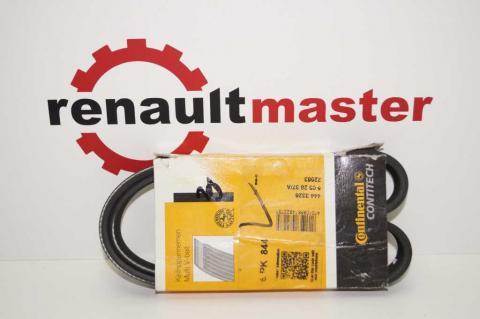 Поли клиновой (дорожечный) ремень 6 PK844 Renault Мaster 2.8 Continental image 1 | Renaultmaster.com.ua