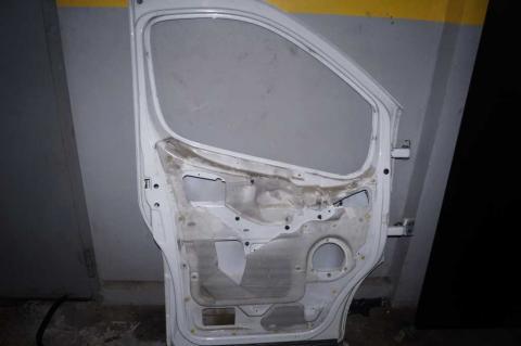 Двери передние некомплектные левые Renault Trafic (Vivaro, Primastar) L Б/У image 2 | Renaultmaster.com.ua