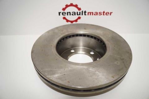 Гальмівний диск Renault Master II перед r16 вентиляційний ABE  image 5   Renaultmaster.com.ua