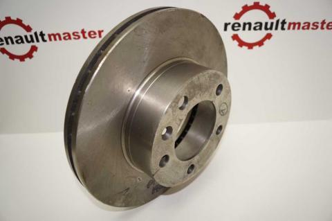 Гальмівний диск Renault Master II перед r16 вентиляційний ABE  image 6   Renaultmaster.com.ua
