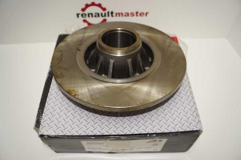 Гальмівний диск Renault Trafic II задній ABS image 2