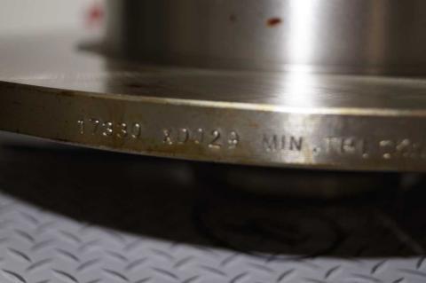 Гальмівний диск Renault Trafic II задній ABS image 4