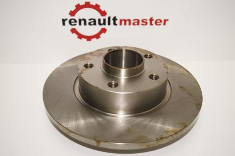 Гальмівний диск Renault Trafic II задній ABS image 1