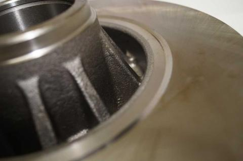 Гальмівний диск Renault Trafic II задній ABS image 7