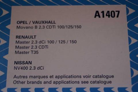 Фільтр повітря Renault Master 2.3 Рurflux image 2 | Renaultmaster.com.ua