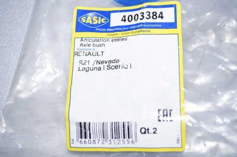 Сайлент-блок задней балки Renault Kangoo 97 - Sasic image 2 | Renaultmaster.com.ua