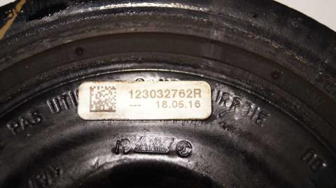 Шкив коленвала Renault Trafic 1.6 Б/У image 5 | Renaultmaster.com.ua