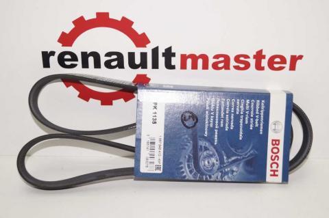 Поли клиновой (дорожечный) ремень Renault Kangoo 1.5 5PK1135 Bosch image 1 | Renaultmaster.com.ua