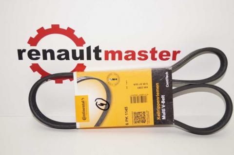 Поли клиновой (дорожечный) ремень Renault Мaster ContiTech -ac image 1 | Renaultmaster.com.ua