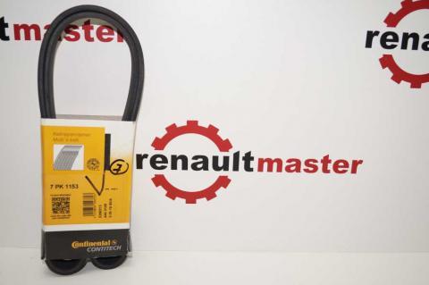 Ремень генератора Renault Kangoo 7PK1153 1.5 dCi CONTITECH (AC) image 2 | Renaultmaster.com.ua