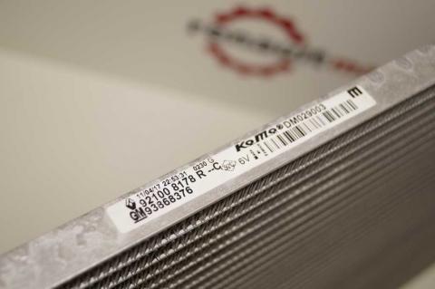 Радіатор кондиціонера Renault Trafic 1.6 15- OE image 2