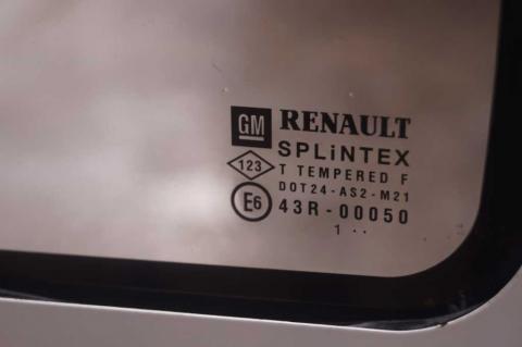 Перегородка со стеклом Renault Trafic (Vivaro, Primastar) Б/У image 3   Renaultmaster.com.ua
