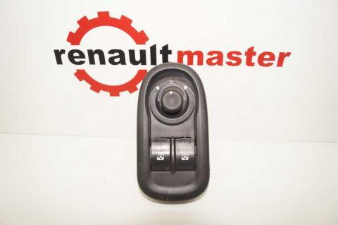 Кнопка склопідйомника ліва подвійна з регулятр. дзеркал Renault Master 2.3 (Movano,NV 400) 2010- Б/У image 1