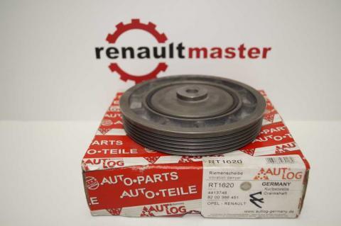 Ременный шкив коленчатого вала Renault Trafic 1.9 Аutolog image 2