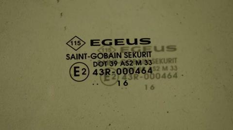Стекла опускные передней правой двери Renault Trafic 1.6 Б/У image 3 | Renaultmaster.com.ua