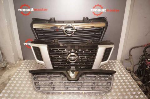 Решітка радіатора Renault Master 2014- OE (рестайлініг) Б/У image 6 | Renaultmaster.com.ua