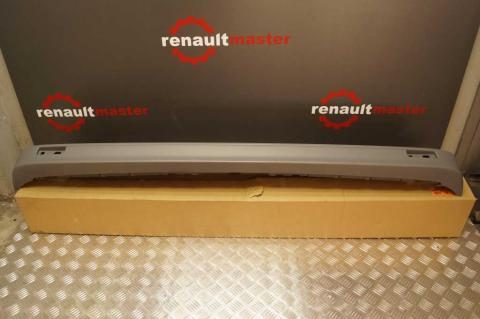 Задний бампер Renault Trafic 07- (под окраску) OE image 1 | Renaultmaster.com.ua