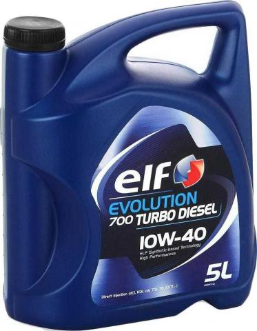 ELF Evolution 700 Turbo Diesel 10W40 5l image 1