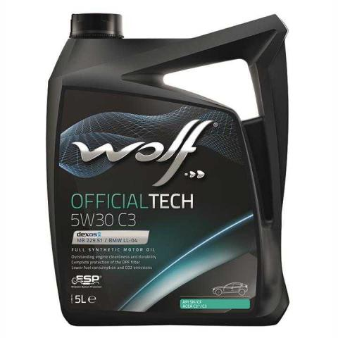 WOLF official TECH 5W30      5L image 1