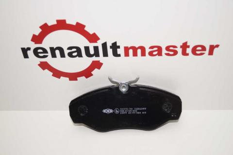 Колодки гальмівні передні Renault Trafic 2001-2015 ICER image 4 | Renaultmaster.com.ua