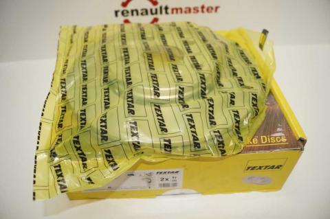 Гальмівний диск Renault Kangoo TEXTAR image 2 | Renaultmaster.com.ua
