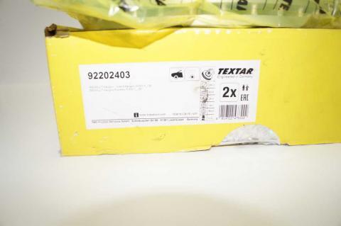 Гальмівний диск Renault Kangoo TEXTAR image 3 | Renaultmaster.com.ua