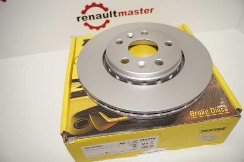 Гальмівний диск Renault Kangoo TEXTAR image 4 | Renaultmaster.com.ua