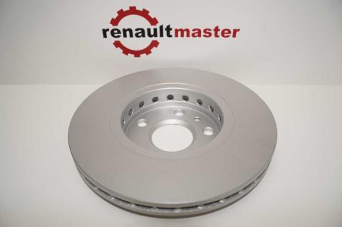 Гальмівний диск Renault Kangoo TEXTAR image 5 | Renaultmaster.com.ua