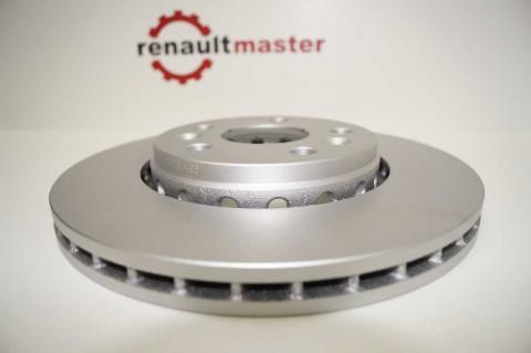 Гальмівний диск Renault Kangoo TEXTAR image 7 | Renaultmaster.com.ua