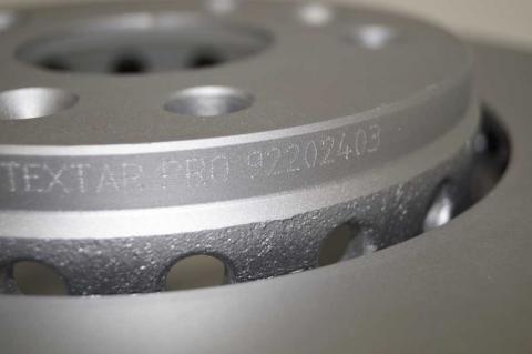 Гальмівний диск Renault Kangoo TEXTAR image 9 | Renaultmaster.com.ua