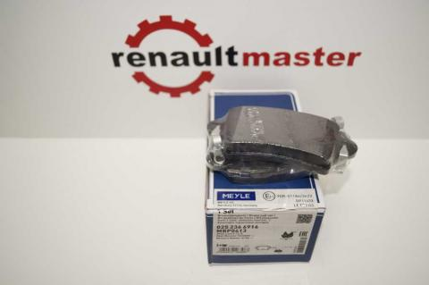 Дискові гальмівні колодки Renault Master Meyle задні r16 без датчику image 4 | Renaultmaster.com.ua