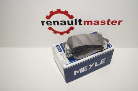 Дискові гальмівні колодки Renault Master Meyle задні r16 без датчику image 1 | Renaultmaster.com.ua
