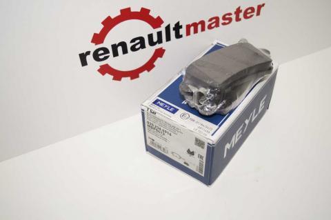 Дискові гальмівні колодки Renault Master Meyle задні r16 без датчику image 5 | Renaultmaster.com.ua