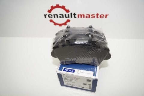 Дисковые тормозные колодки Renault Master Meyle перед r16 без датчика image 1   Renaultmaster.com.ua