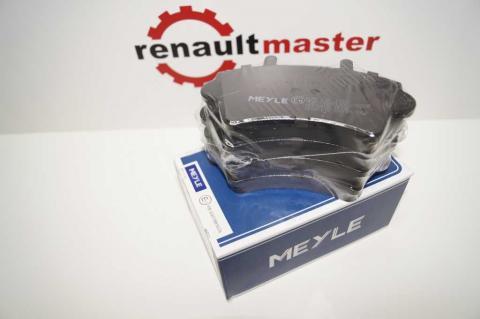Дисковые тормозные колодки Renault Master Meyle перед r16 без датчика image 4 | Renaultmaster.com.ua