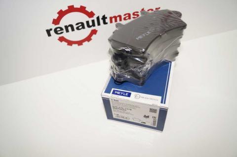 Дисковые тормозные колодки Renault Master Meyle перед r16 без датчика image 5 | Renaultmaster.com.ua
