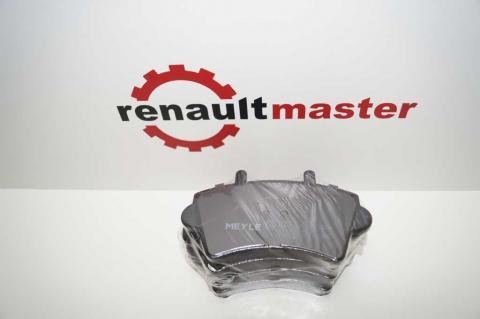 Дисковые тормозные колодки Renault Master Meyle перед r16 без датчика image 6 | Renaultmaster.com.ua