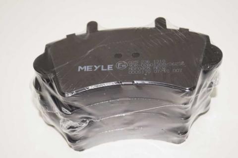 Дисковые тормозные колодки Renault Master Meyle перед r16 без датчика image 9   Renaultmaster.com.ua