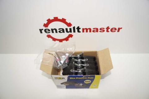 Колодки гальмівні задні Renault Trafic -01 ICER image 2 | Renaultmaster.com.ua