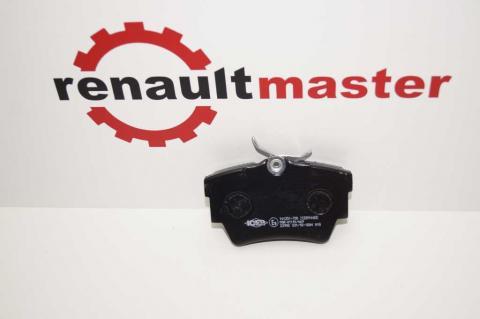 Колодки гальмівні задні Renault Trafic -01 ICER image 3 | Renaultmaster.com.ua