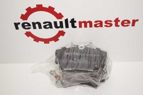 Колодки гальмівні задні Renault Trafic 2001-2015 MOTRIO image 2 | Renaultmaster.com.ua